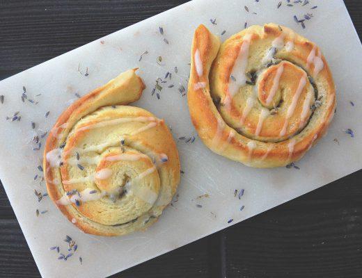 Lavender rolls