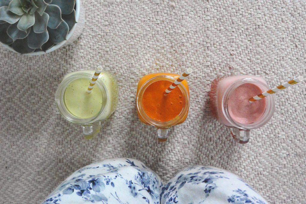 3 recettes de jus de fruits