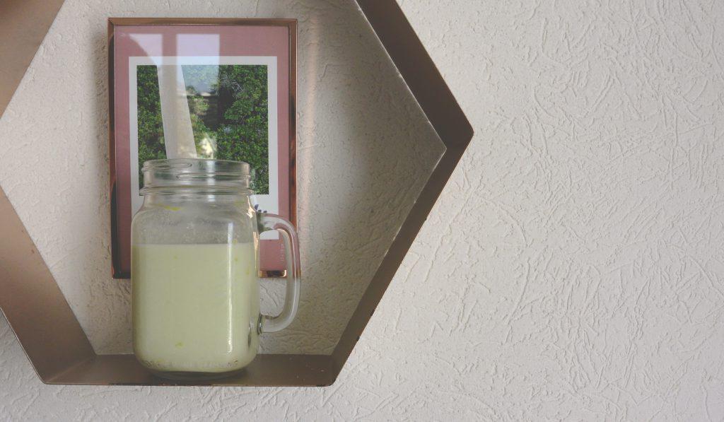 Jus avocat – lait d'amande
