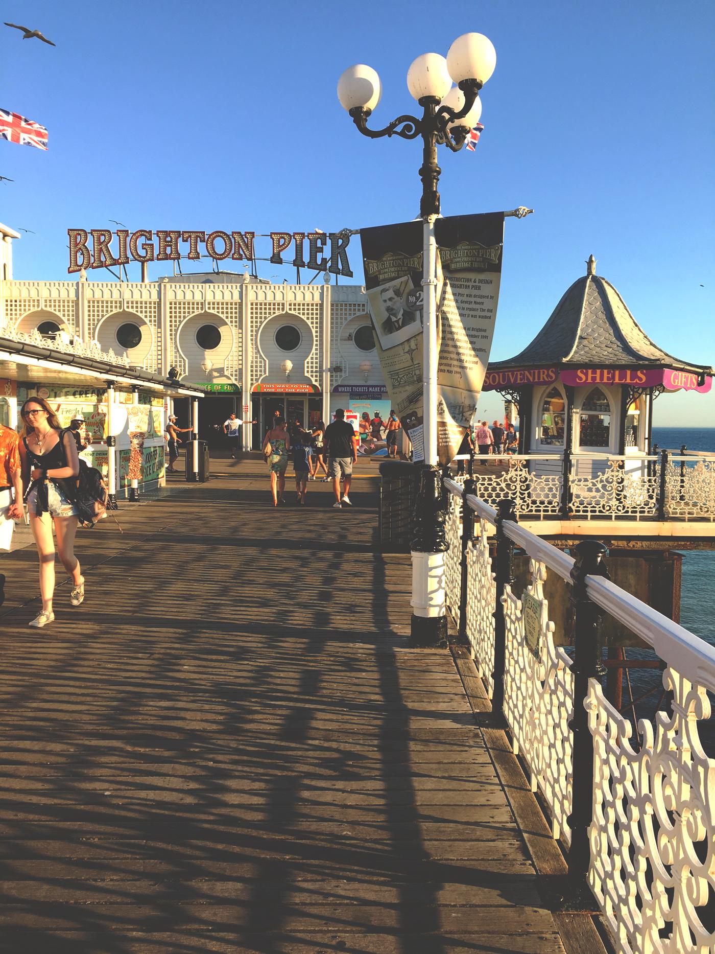 Brighton pier – Entrée