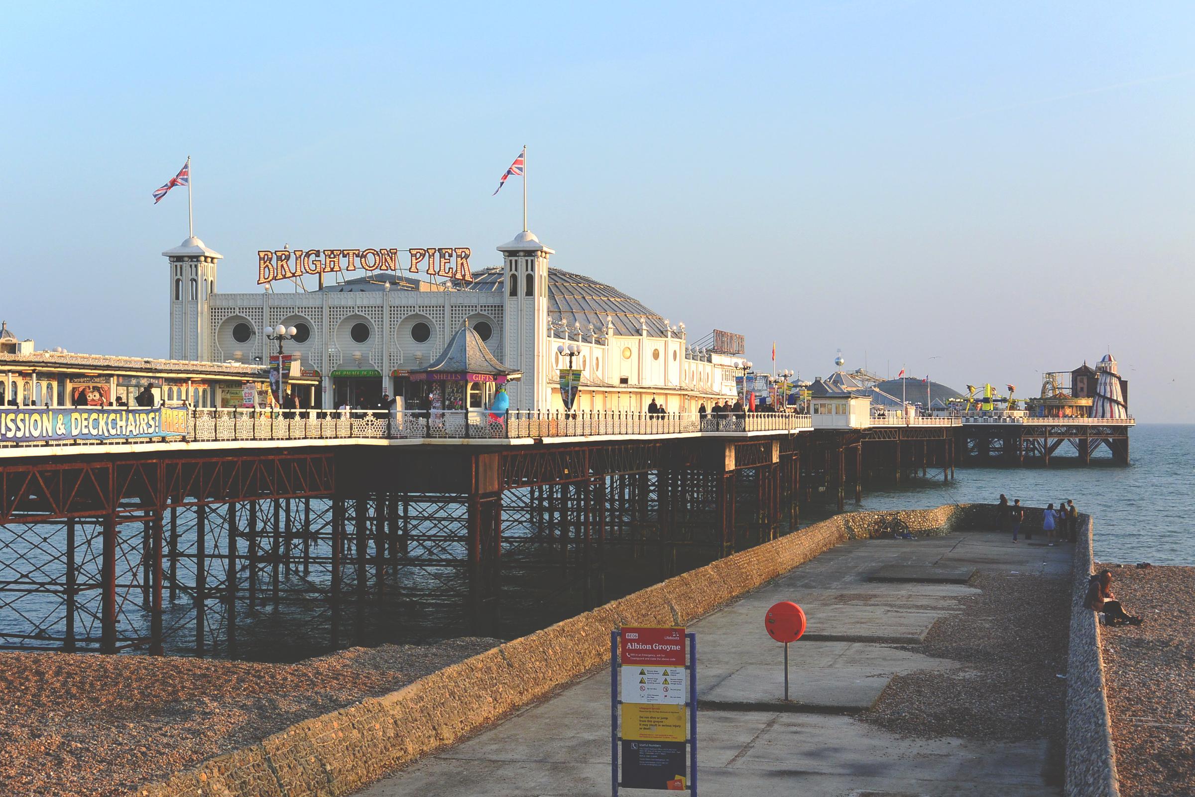 Sélection de 5 endroits à visiter à Brighton