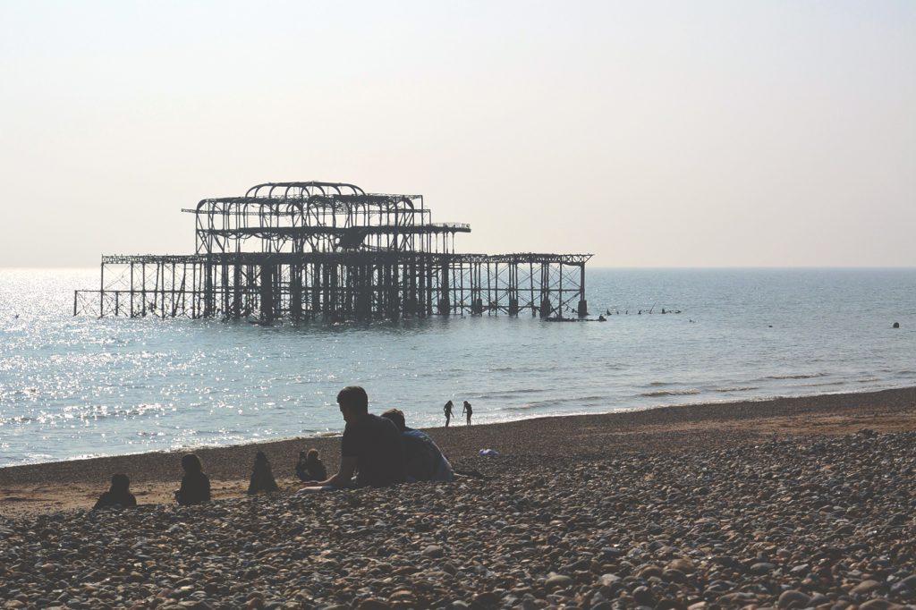 Old pier – west pier – brighton