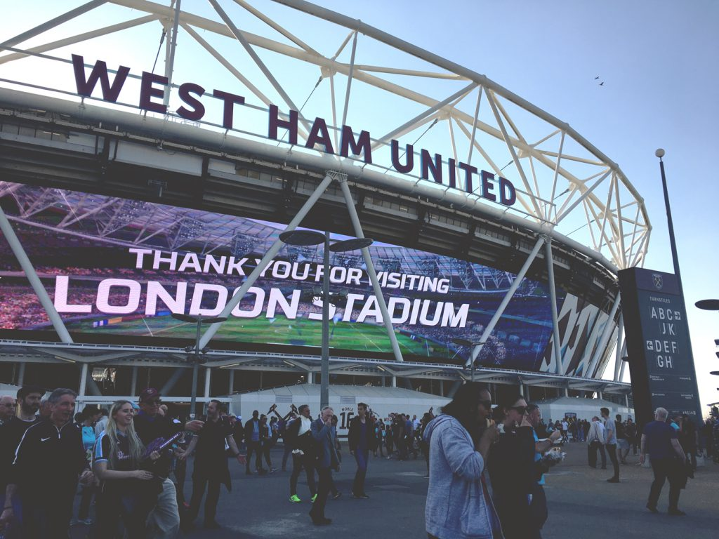 Thank you for visiting london stadium