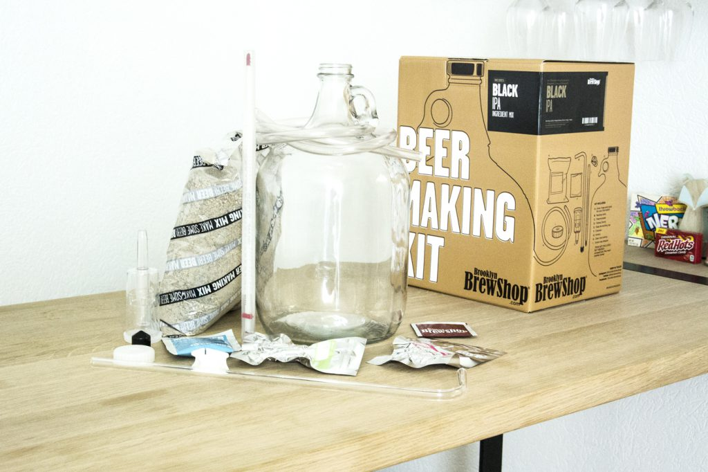Brooklyn Brew shop – Contenu