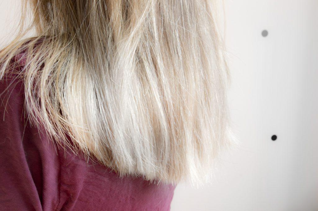 Plus de cheveux jaunes