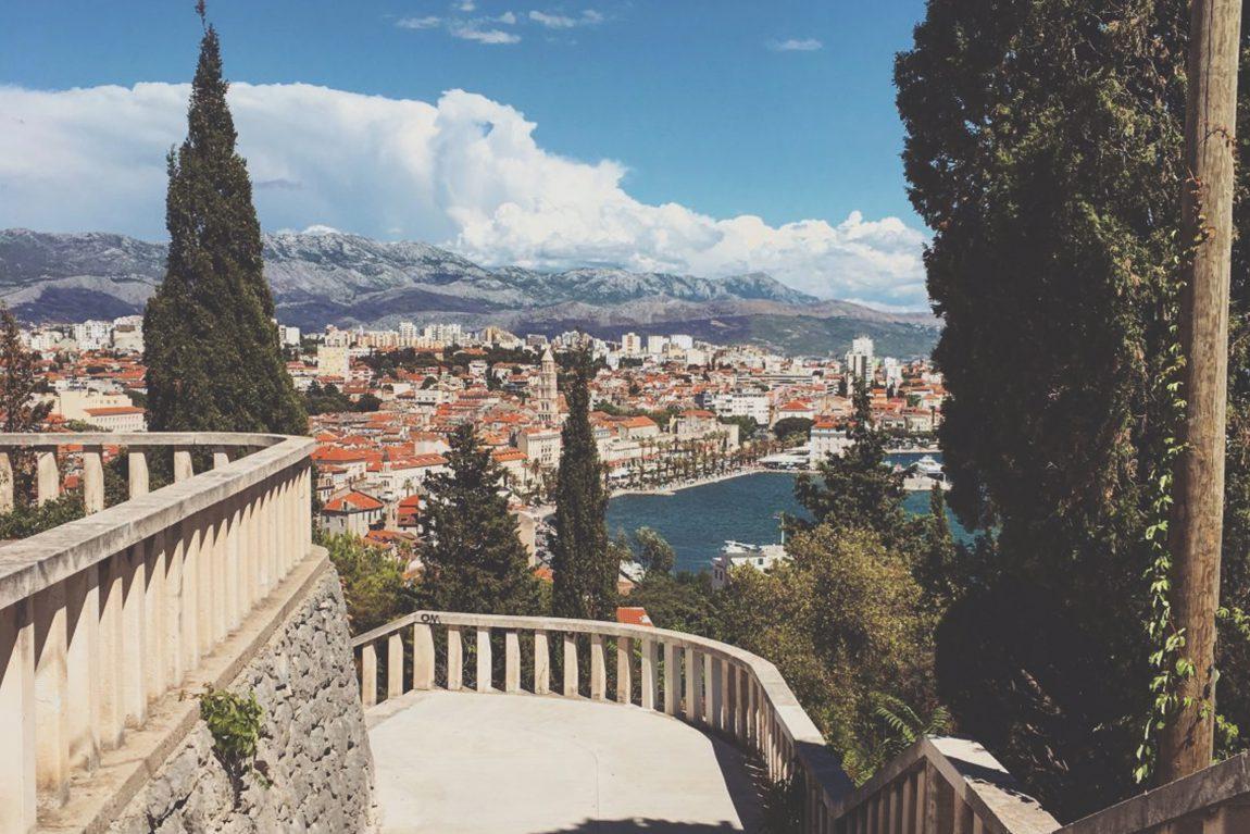 Split depuis le parc Marjan