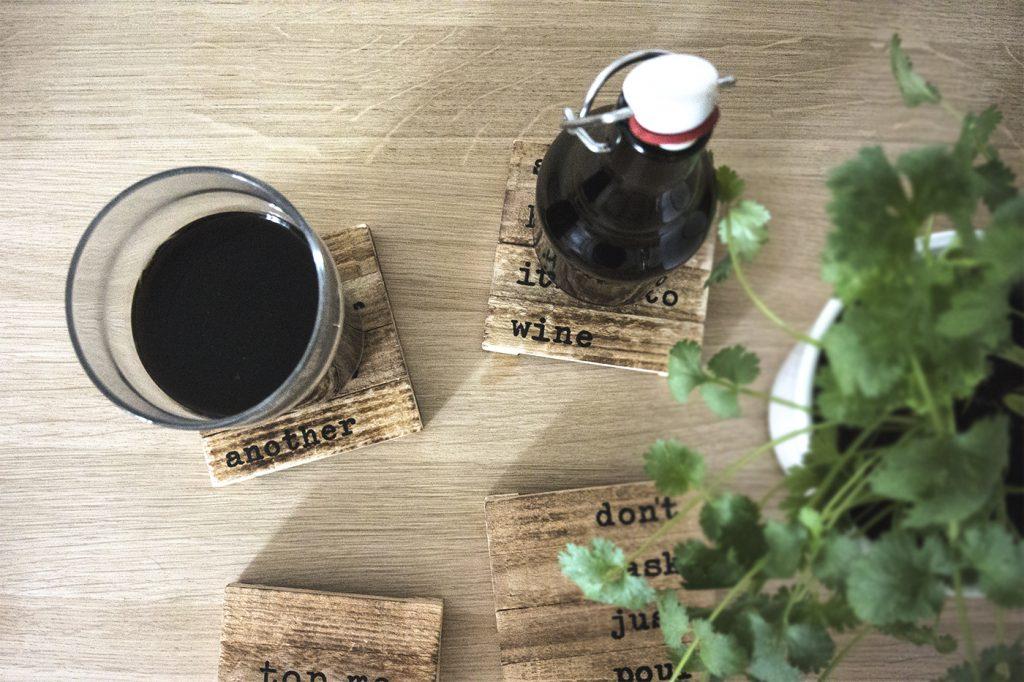 Bière noire – Résultat final