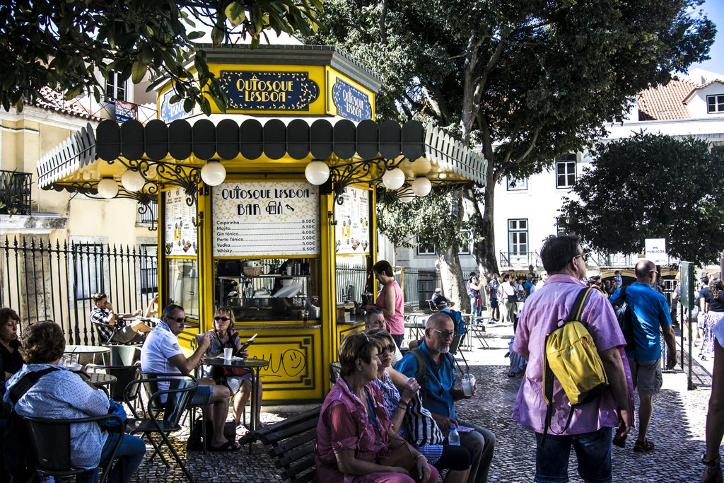 Kiosk Lisbonne