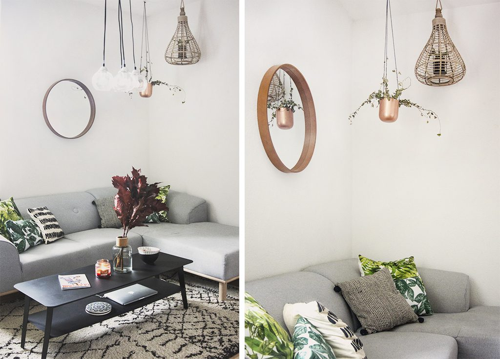 Miroir – La redoute / Vase – Zara Home