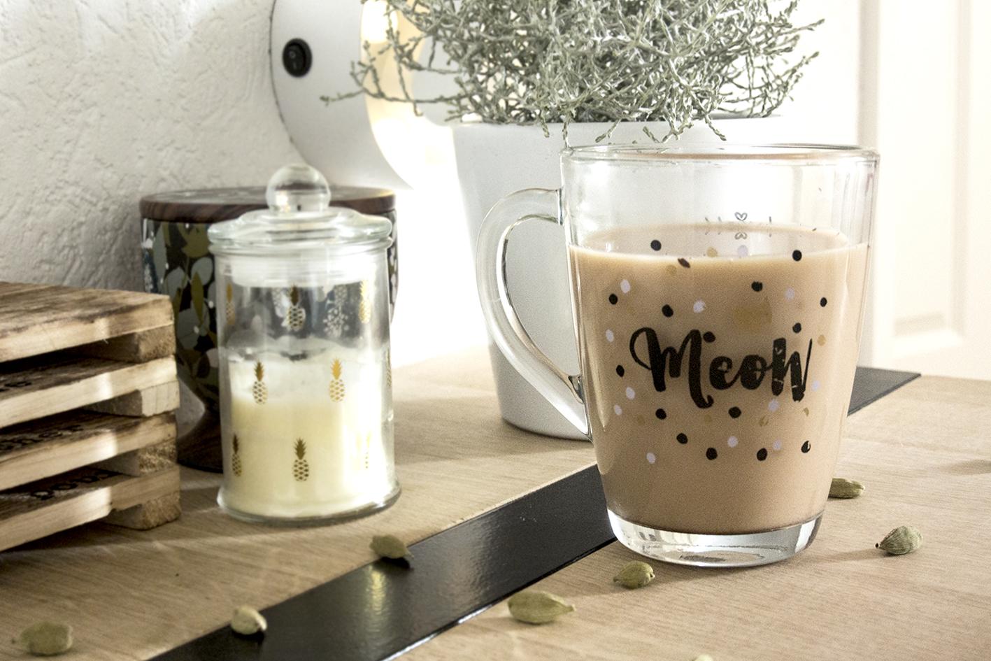 Thé au lait mauricien (chaï)