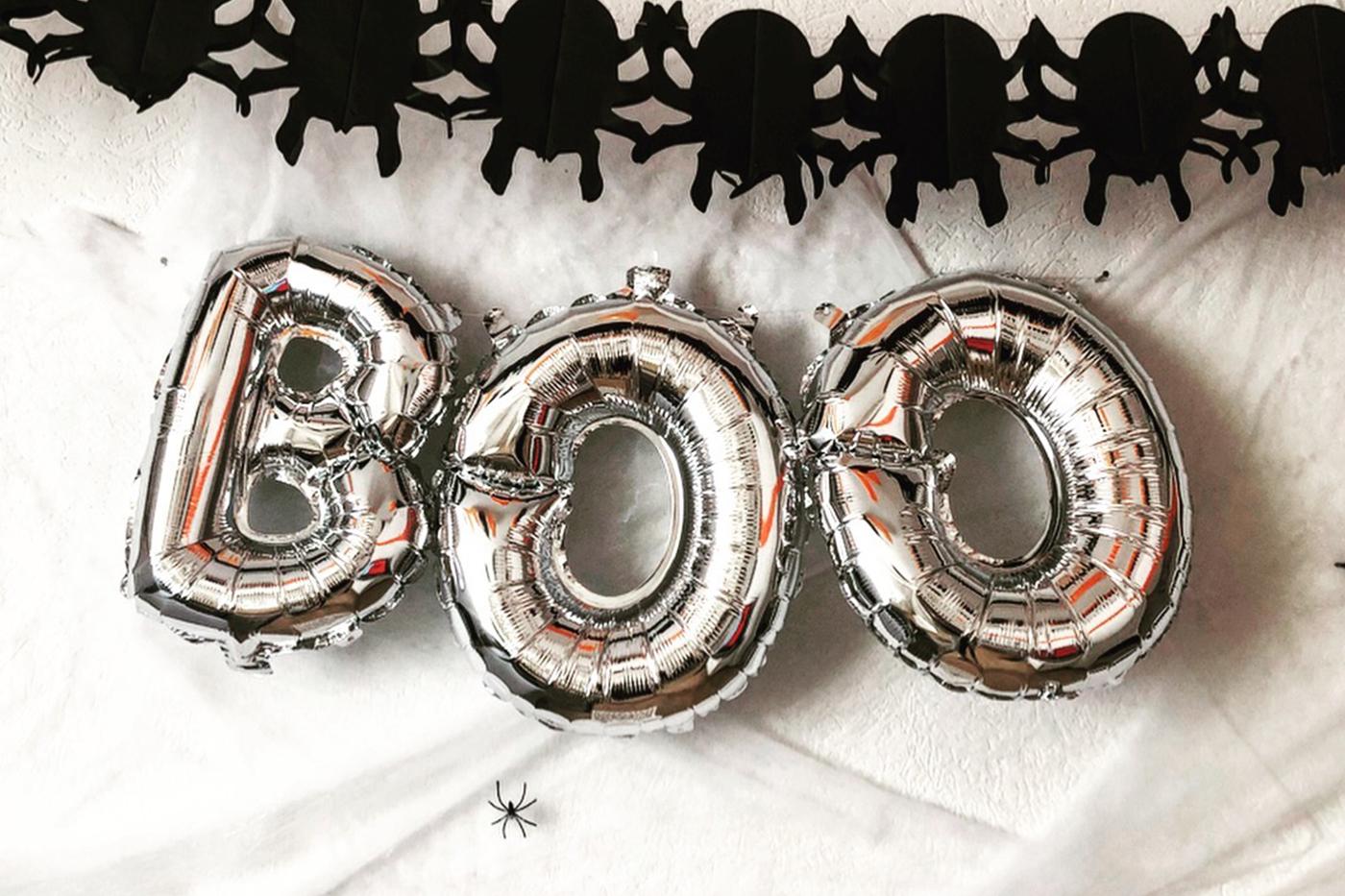 La décoration de notre Halloween party !