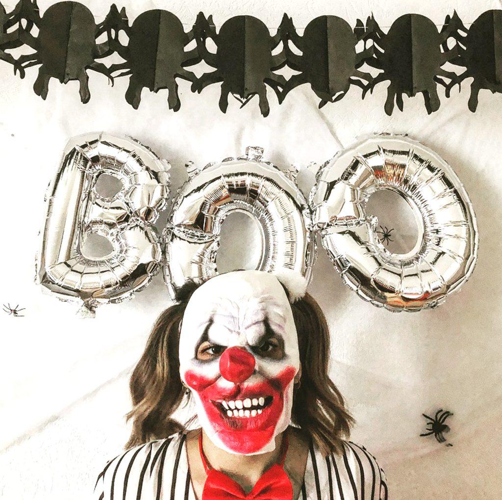 Masque clown so high