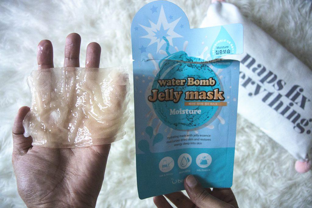 Texture du Jelly Mask