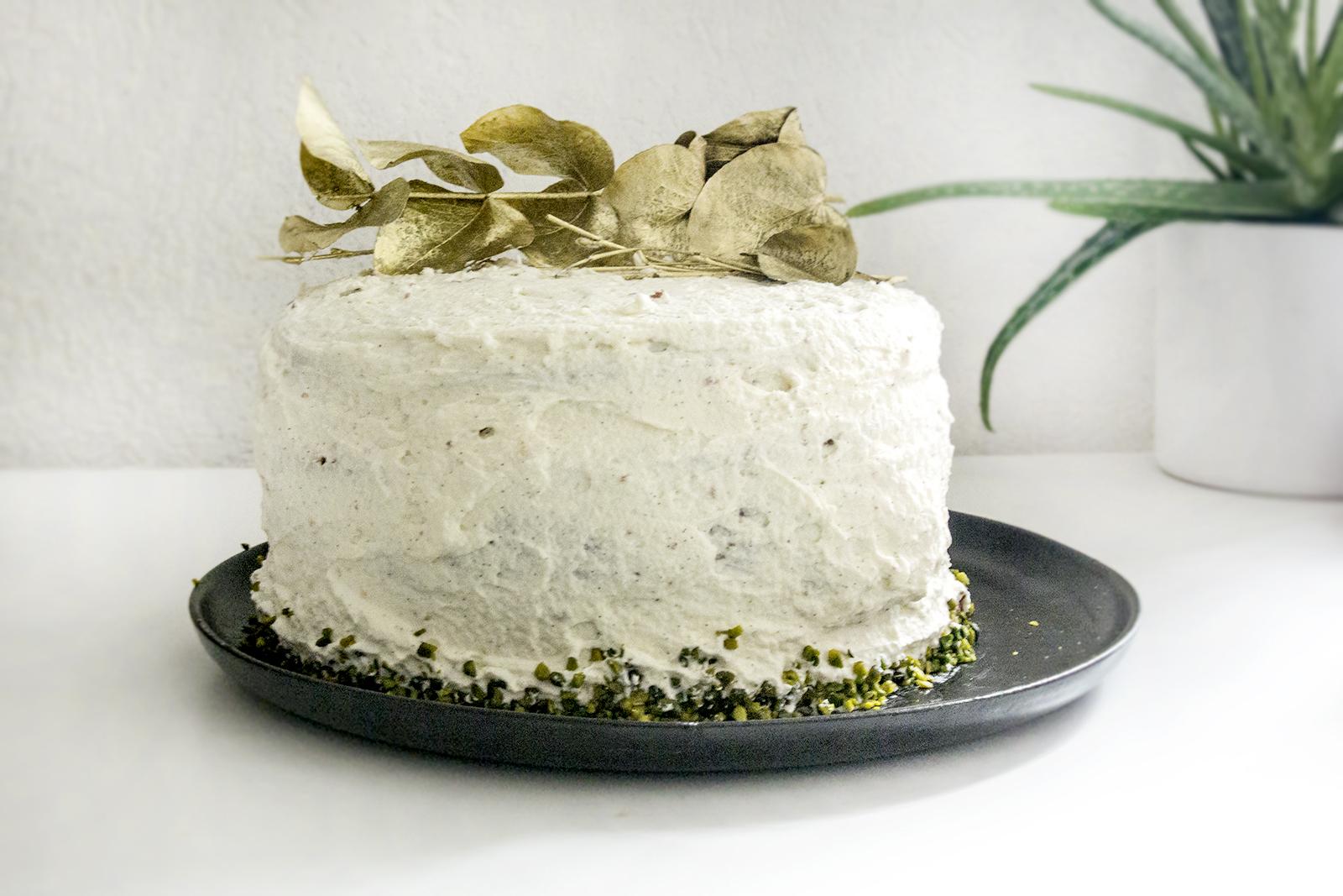 Mon gâteau de Noël chocolat – pistache