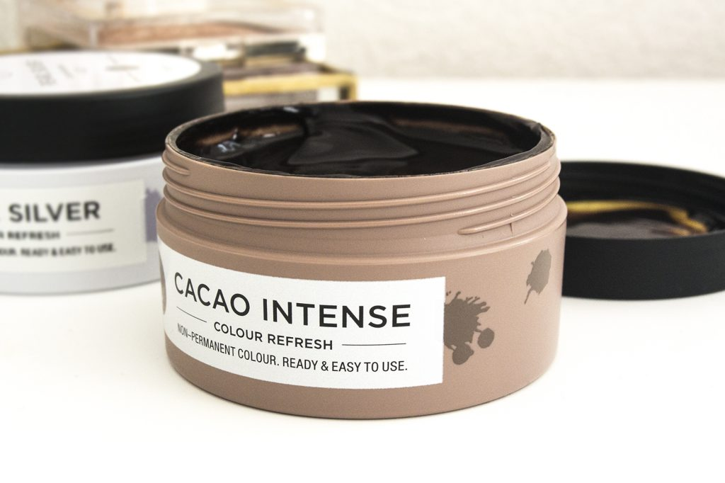 Texture du colour refresh cacao intense