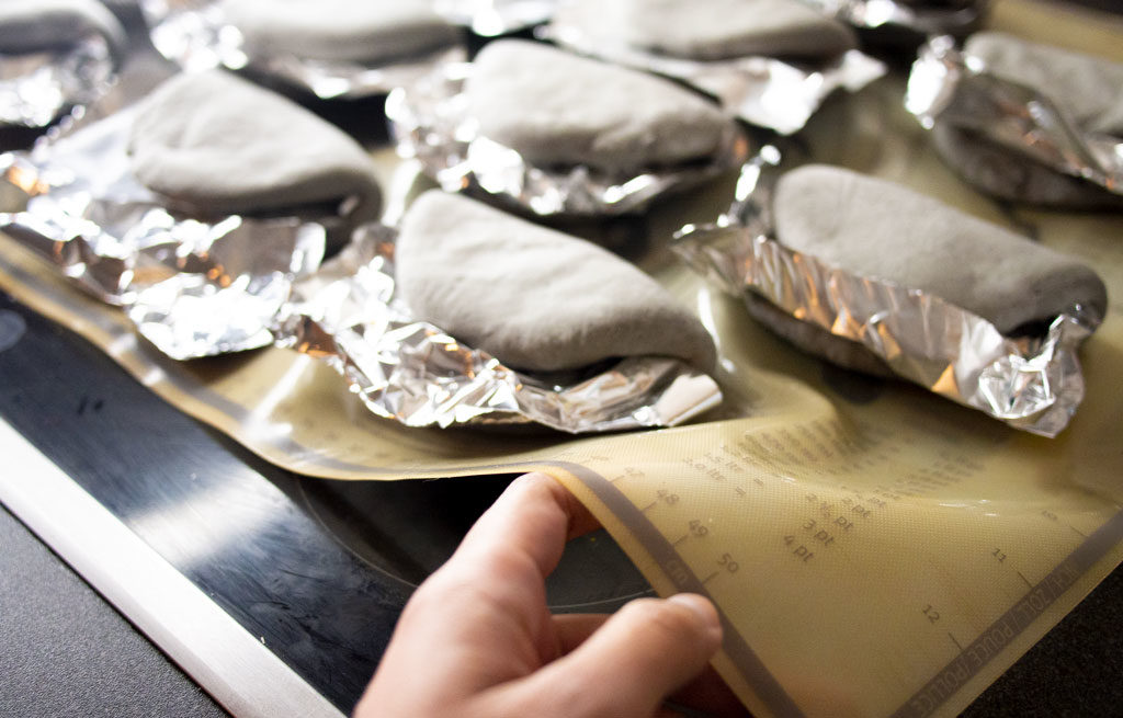 Silicone à la place du papier sulfurisé